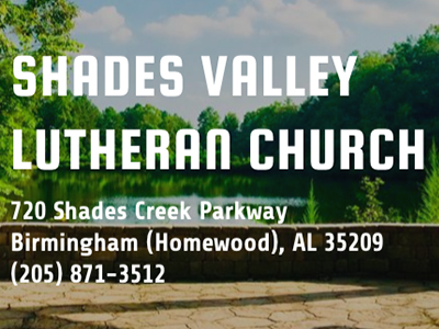 Shades Valley Lutheran Church